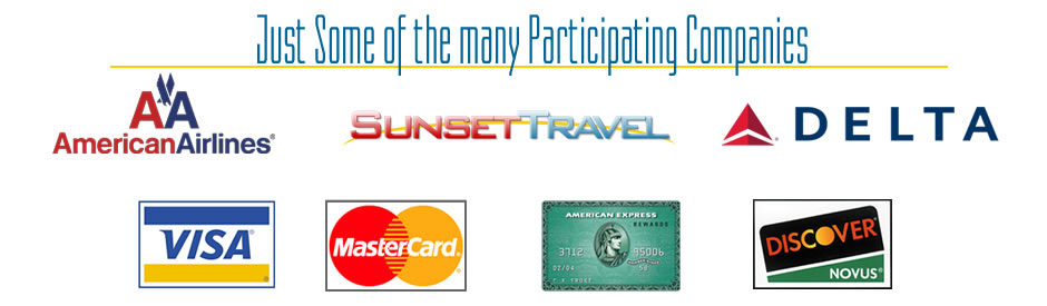 travel coupon participating companies